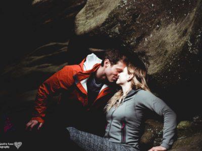 Frank & Greta - at Brimham Rocks