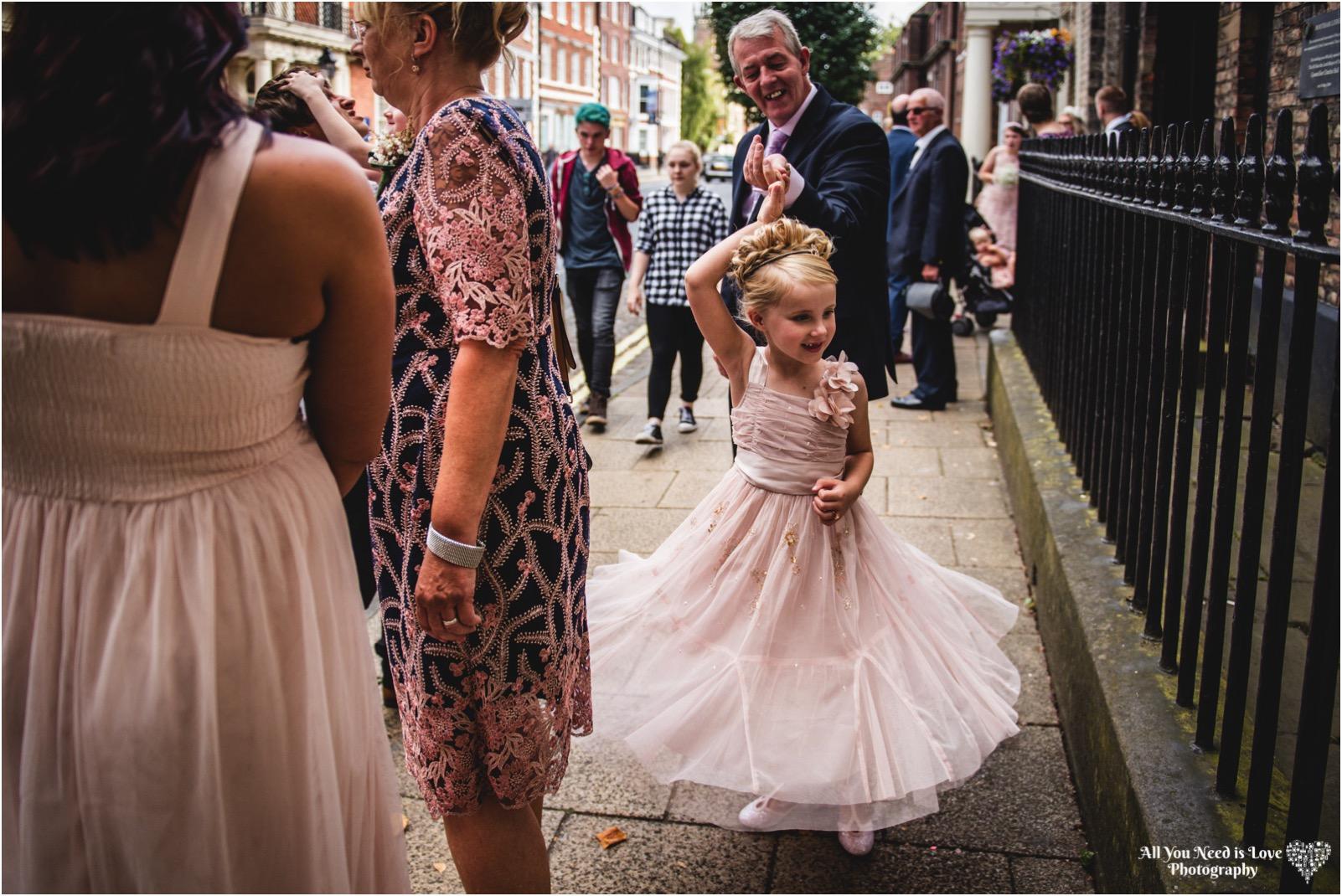 York Minster Wedding