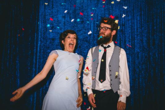 Creative fun york wedding