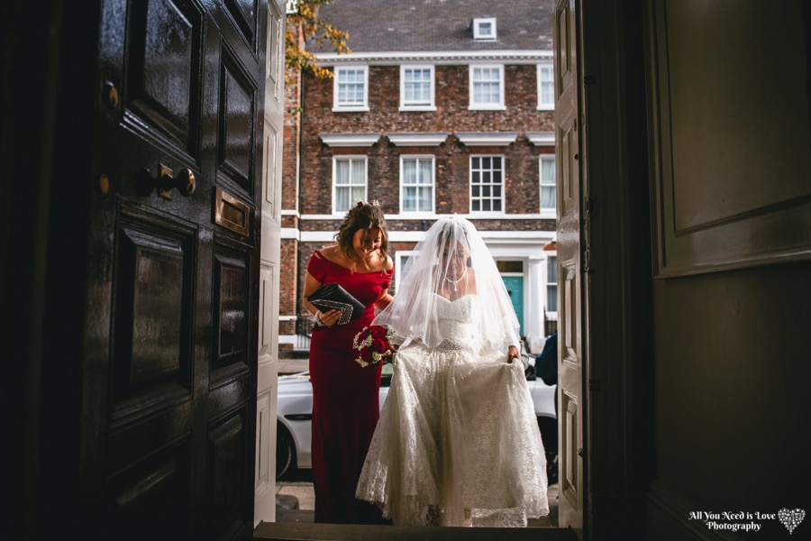 York register office wedding