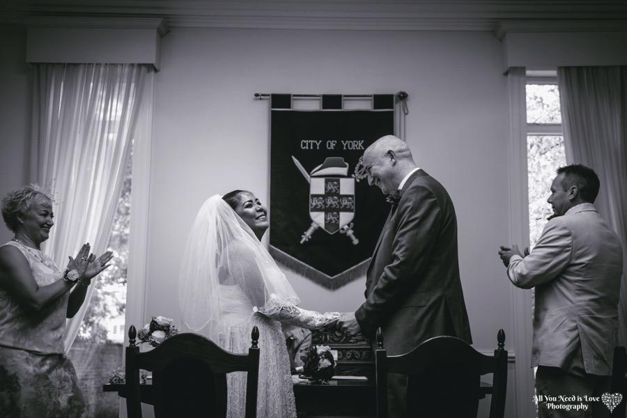 York register office wedding