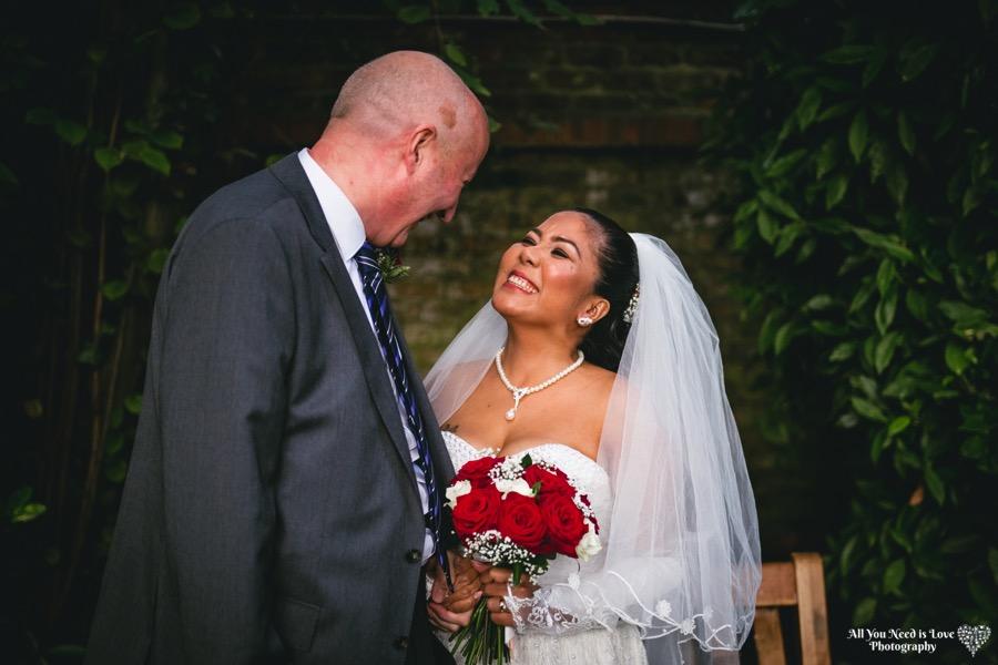 Happy Yorkshire Bride