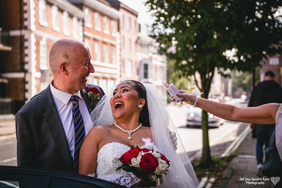 fun wedding photos york
