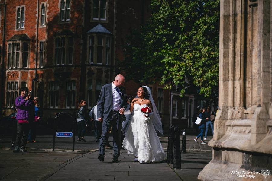york minster wedding photos
