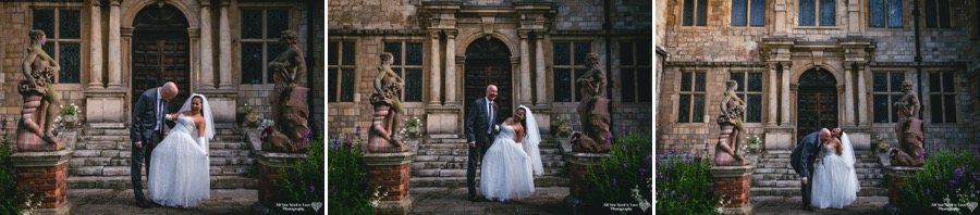 relaxed portraits of bride groom