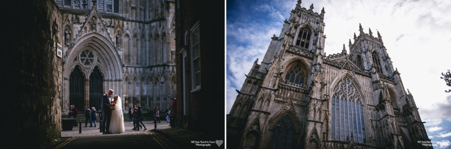 york minster wedding photos