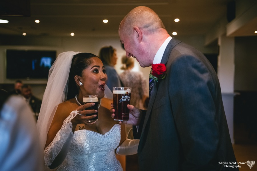bride and groom york