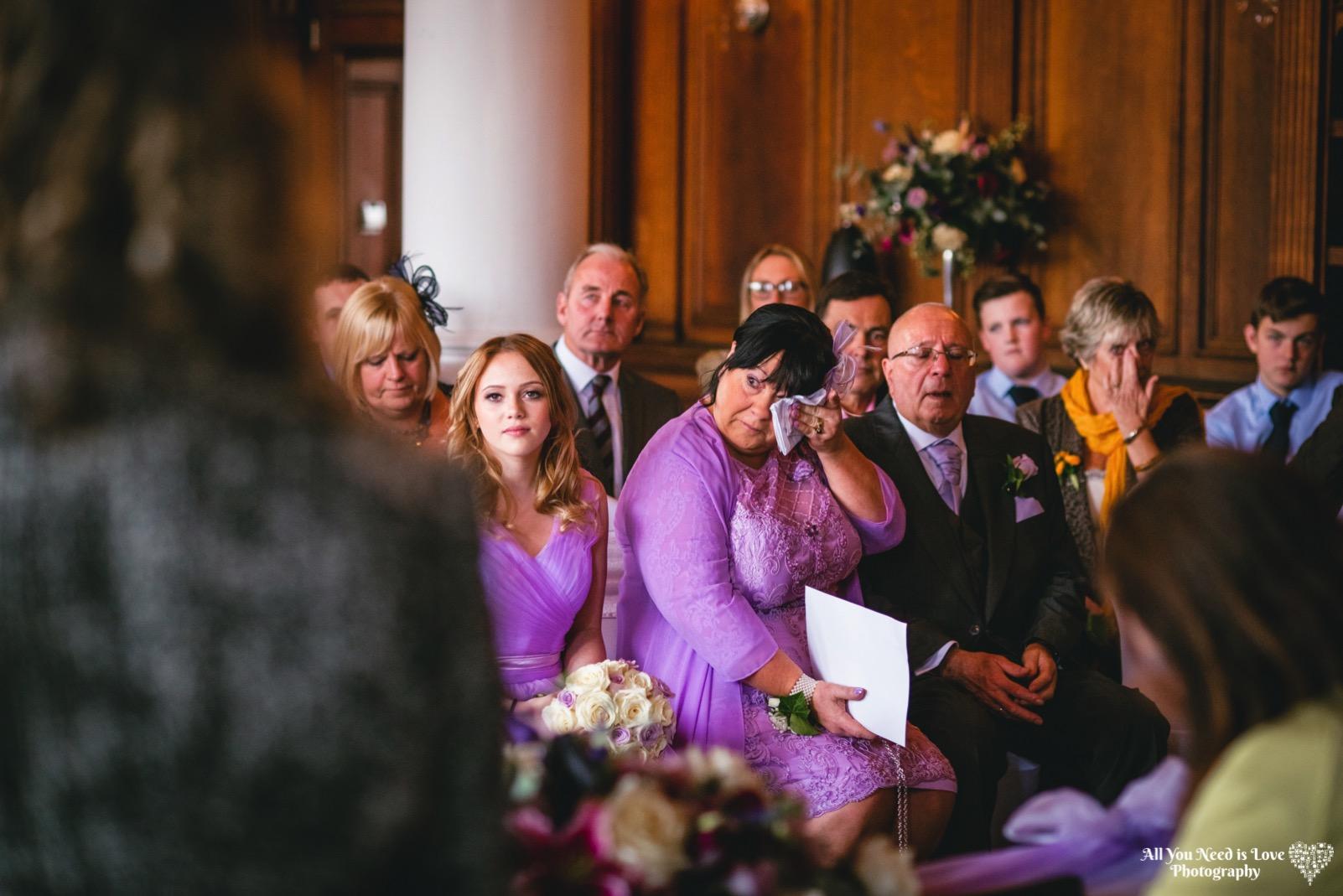 Natural relaxed wedding photos York