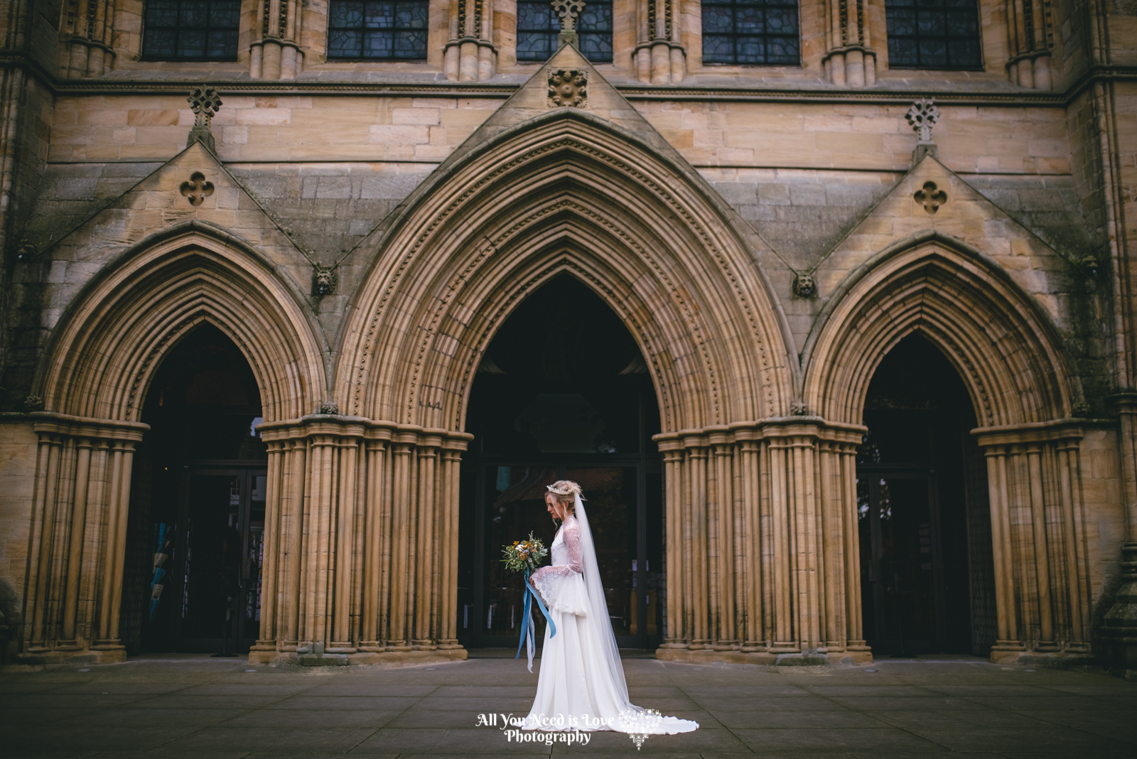 Ripon Cathedral Wedding photo