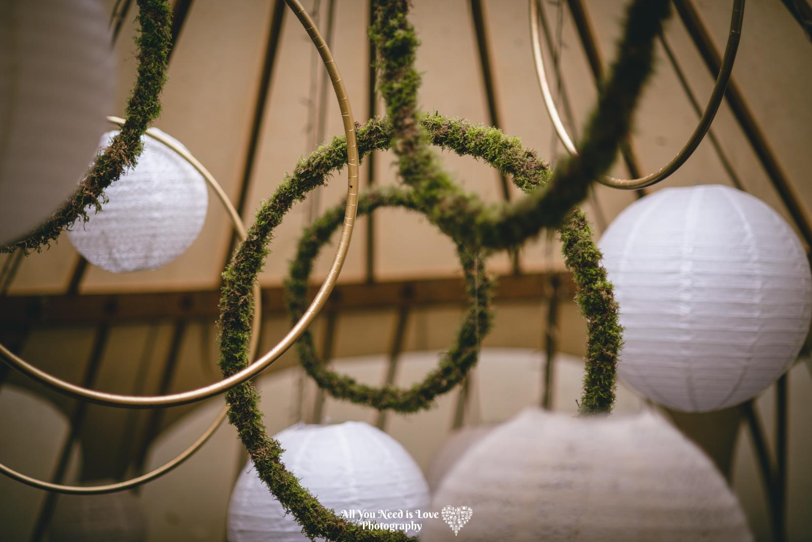 Yurt wedding decorations