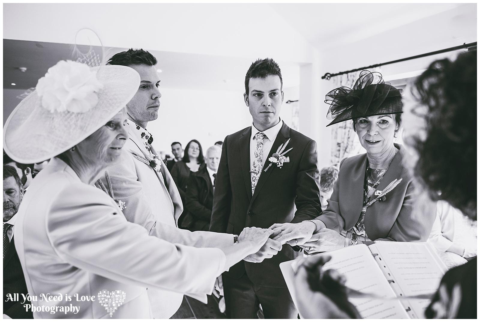 Natural wedding photos York