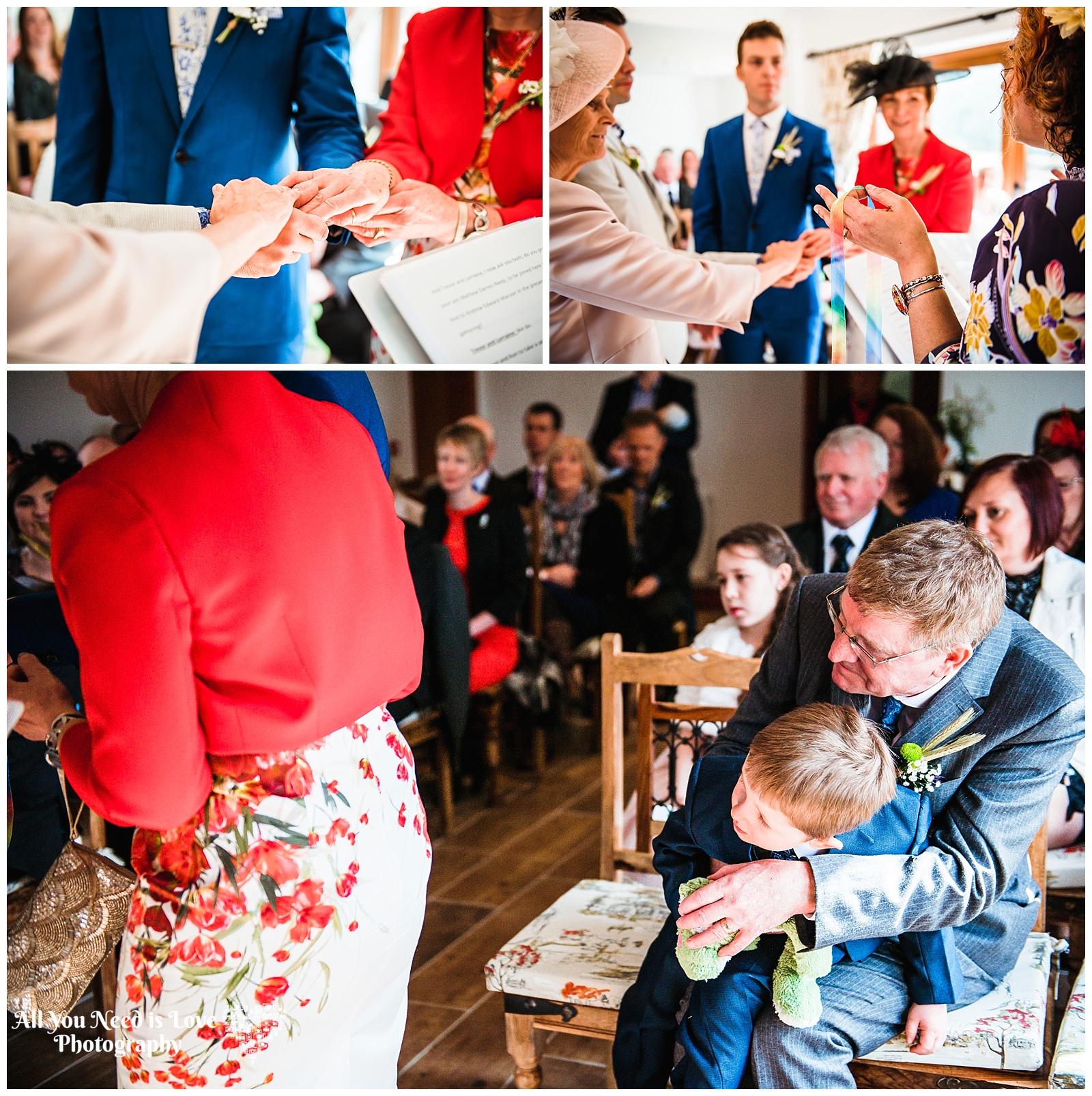 Fun wedding photographer York