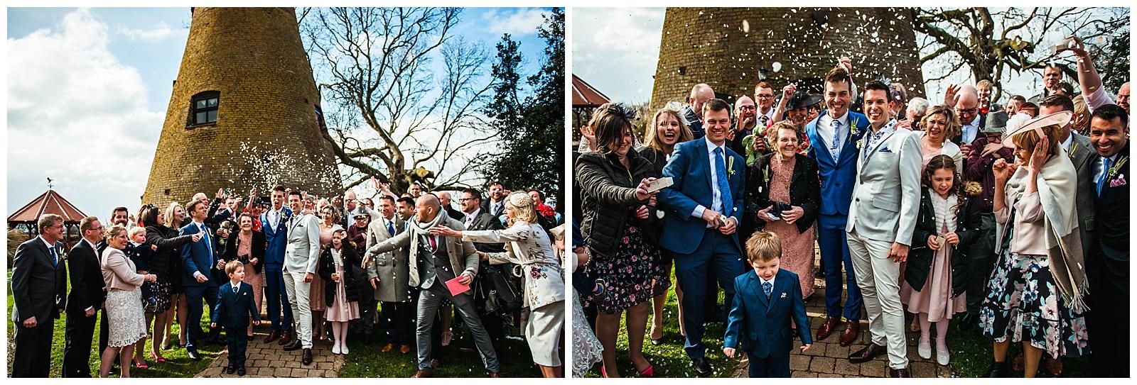 Fishlake Mill wedding potos