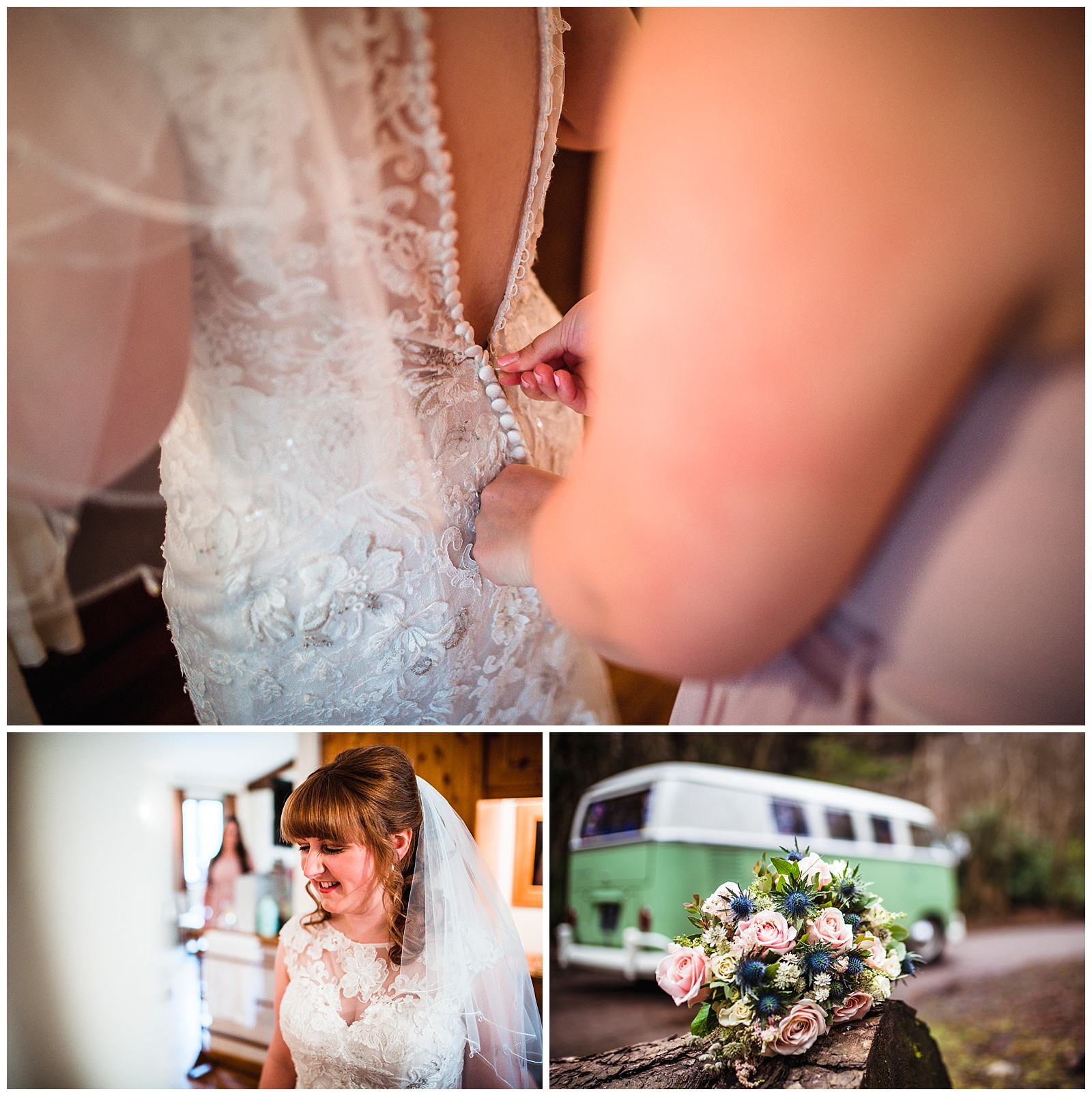 VW camper wedding York