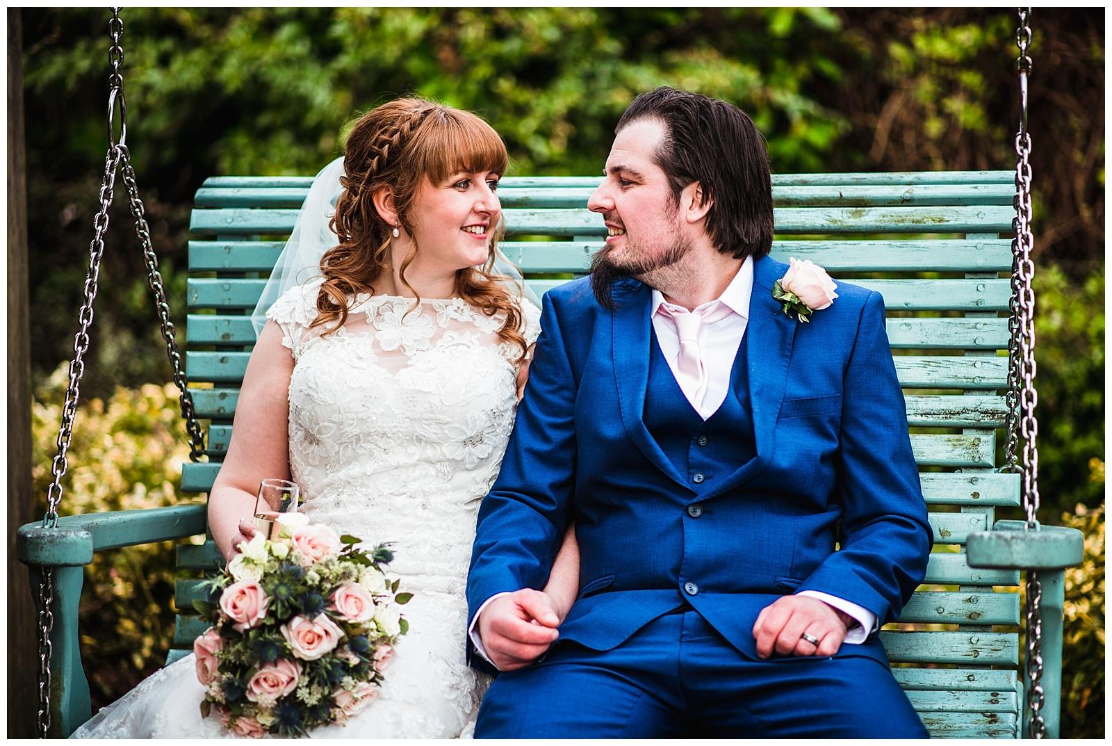 the happy couple, York Wedding