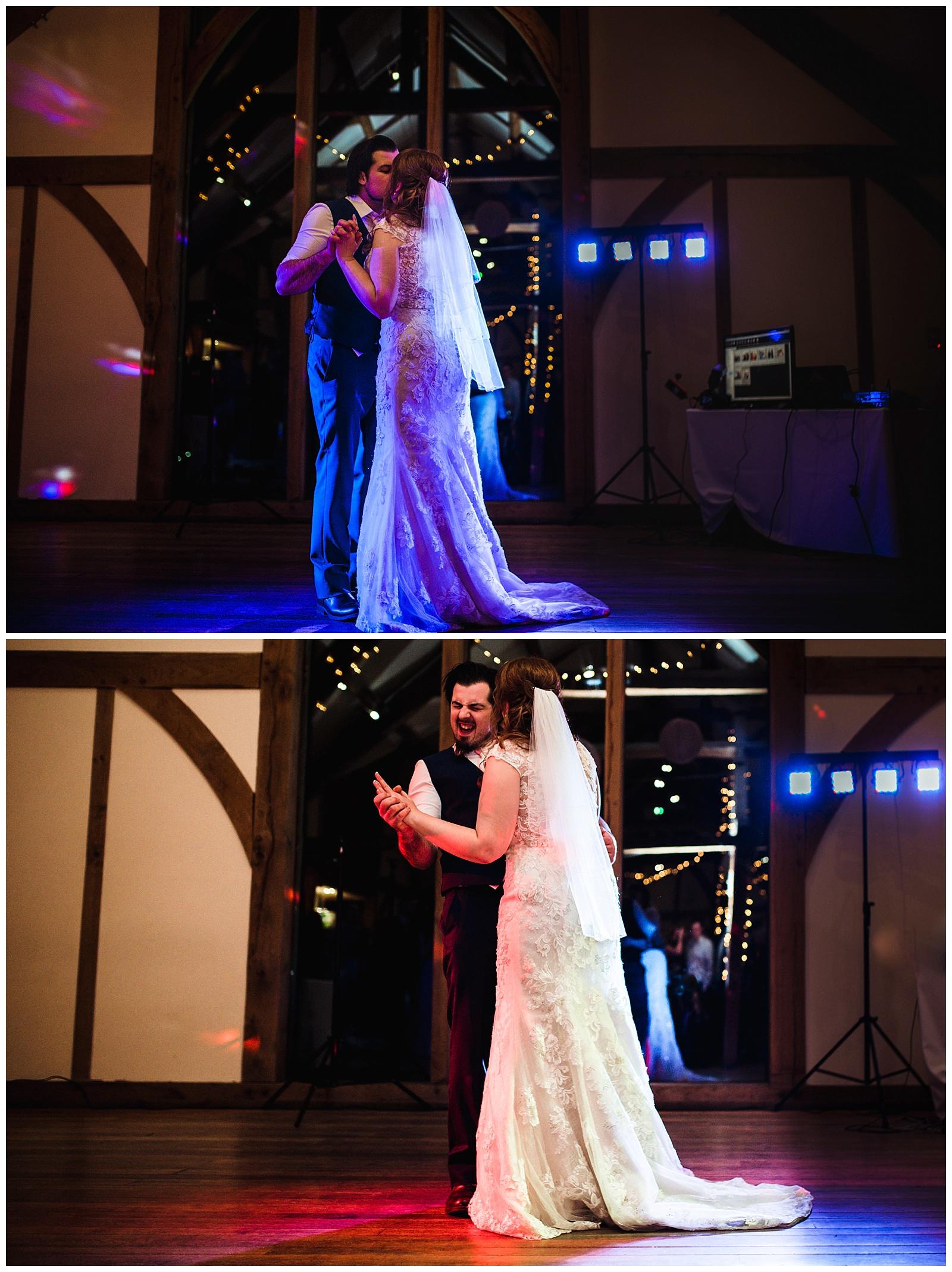 first dance, york wedding