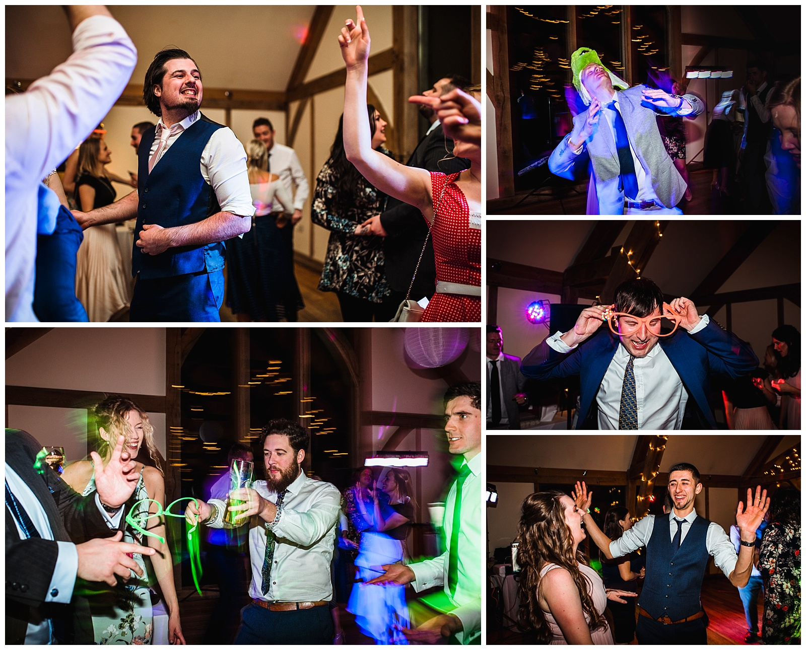 dance floor photos at York wedding