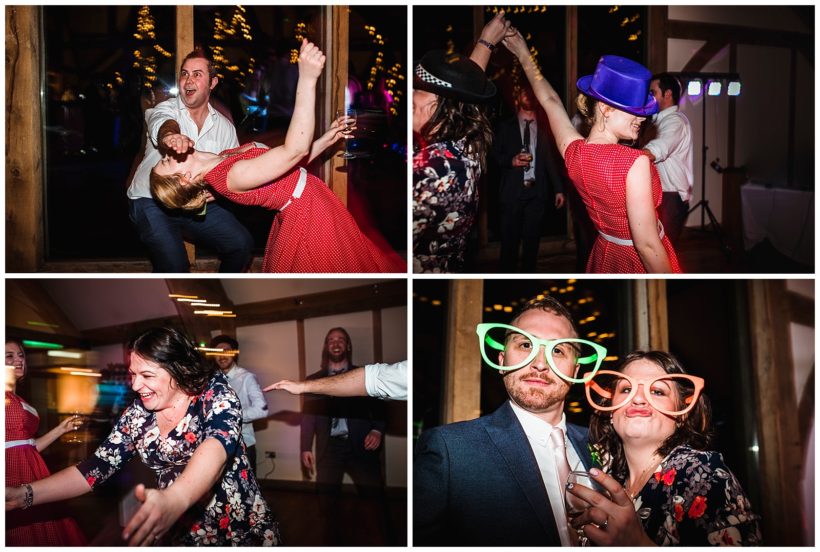 Sandburn Hall wedding dance floor