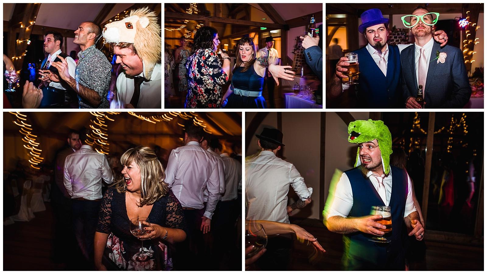 Rock n Roll dance floor, york wedding