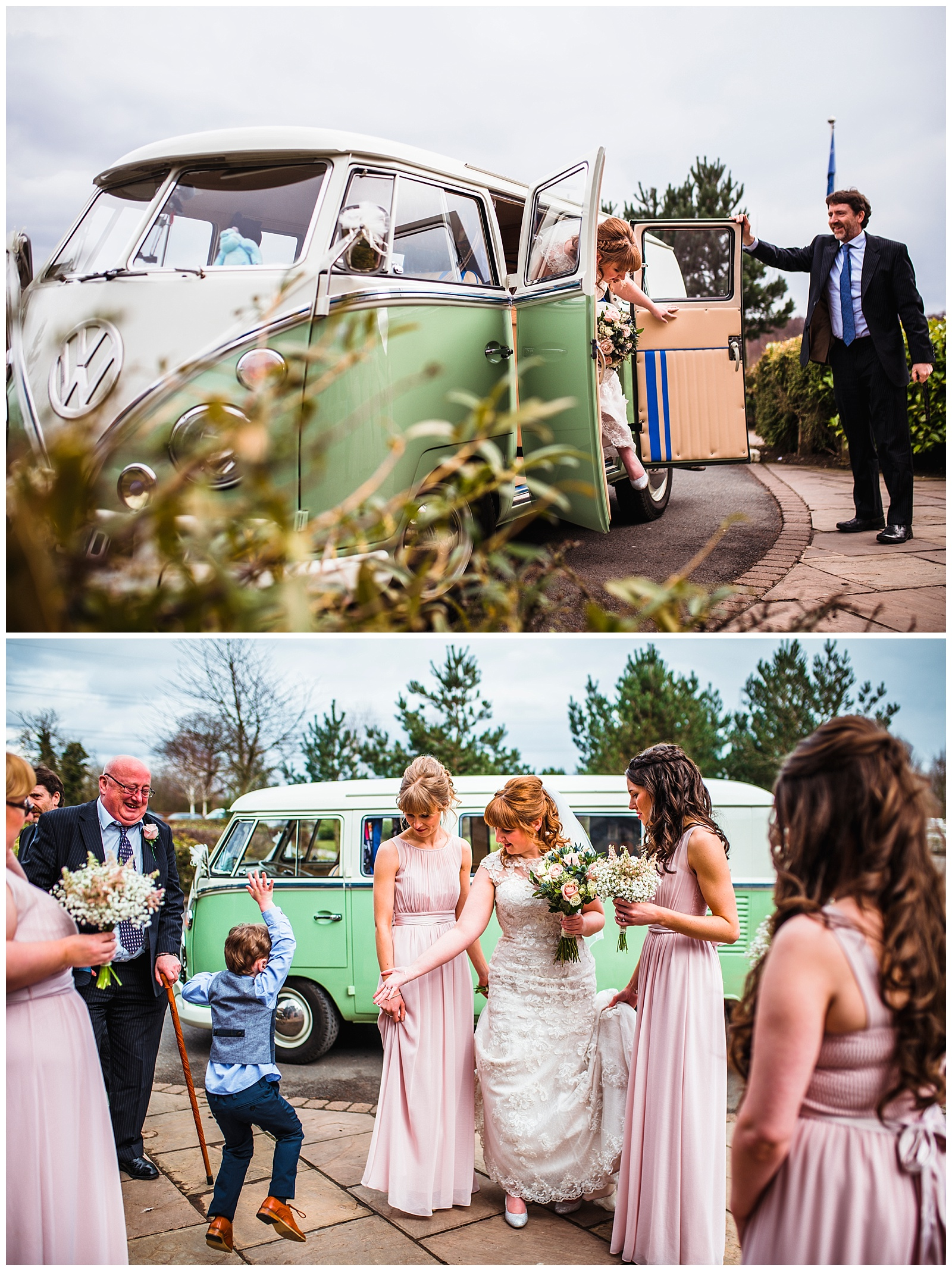 Sandburn Hall rustic wedding