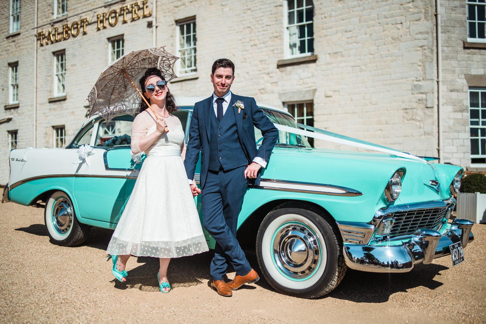 Talbot Hotel Wedding