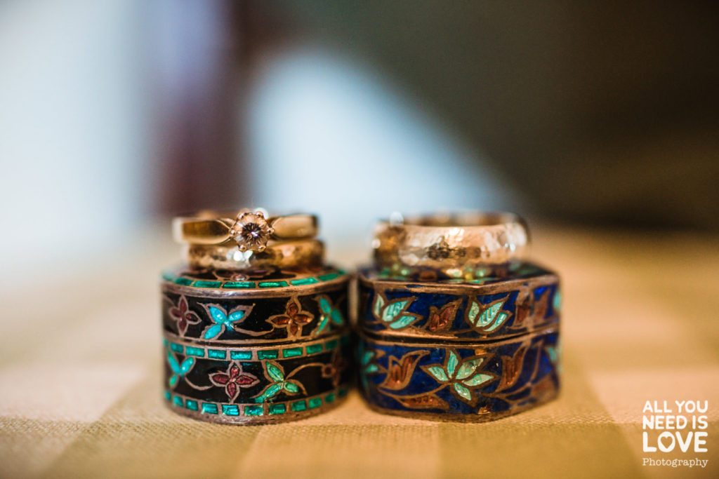 Designing your own wedding rings