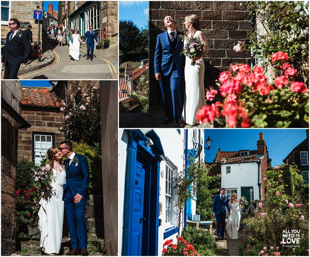 Getting married in Robin Hood's Bay, Whitby
